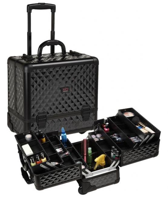 Beauty-Case-Trolley-Sorise-Black