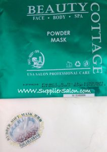 Masker Beauty Cottage Pearl and Milk